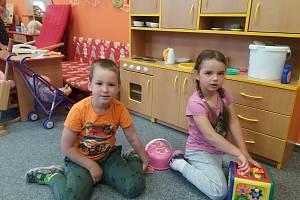 Děti v Mateřské škole Na Kocourku v Novém Strašecí.