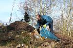 Obyvatelé Jesenice se pustili do úklidu už tuto sobotu v rámci akce Ukliďme Česko, ukliďme svět.