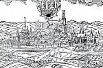 Willenbergova veduta z roku 1600 zachycuje tehdy již královské město Rakovník dvacet let před bitvou u Rakovníka, která předcházela osudové bitvě na Bílé hoře. Stavovská vojska se u Rakovníka pokusila zastavit císařsko-ligistické oddíly.