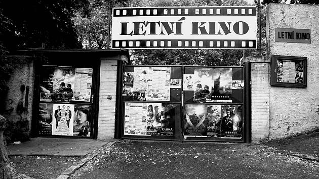 Letní kino v Rakovníku.