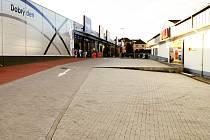 Obchodní centrum u autobusového nádraží v Rakovníku