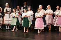 Dětský folklórní soubor Borůvky se zúčastnil celostátní přehlídky v Jihlavě.