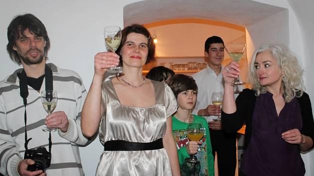 Otevření kavárny a informačního centra Dobromysl v Srbči