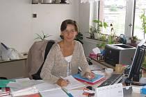 Jitka Ledvinová, Eures poradkyni pro okres najdete na rakovnickém úřadě práce.