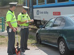 Nehoda s vlakem v Lubné