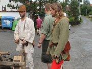 Poutníci se vydávají na cestu do Ulmu