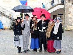 Oslavy sta let od založení republiky na hradě Křivoklát.