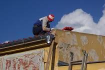 Oprava střech Benzinolu