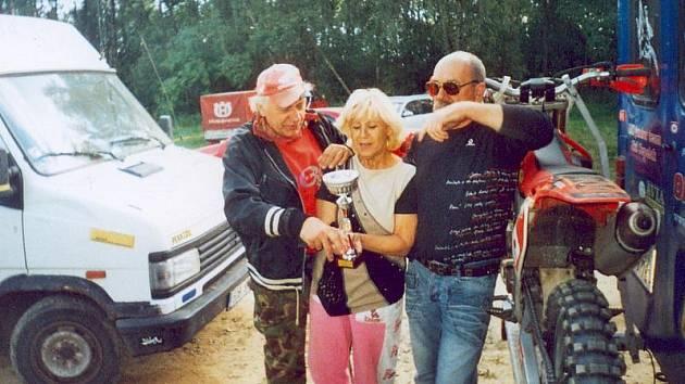 Miroslav Ryšavý vlevo