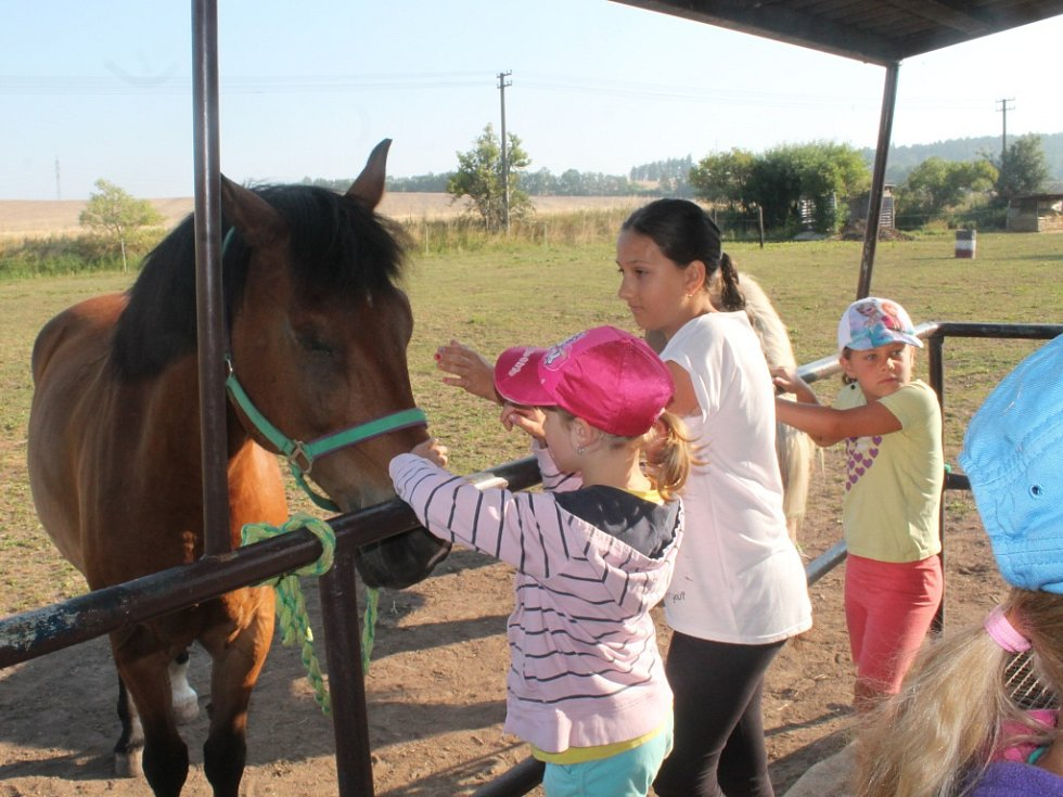 Tábor na ranči U Bentleyho v Lišanech