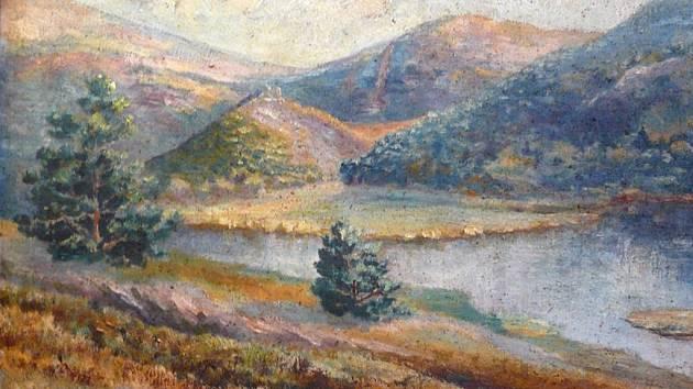 Panenská příroda Křivoklátska - obraz