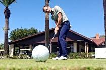 Golfista Jan Cafourek