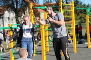 Otevření workoutového hřiště v Lišanech