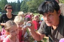Děti se učily o přírodě a myslivosti