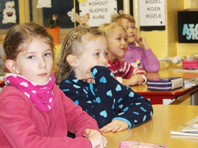 Školení prvňáčků v první pomoci
