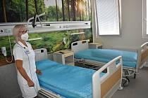 Na sedmém patře rakovnické nemocnice bylo zrekonstruováno několik pokojů. Opravami prošlo i osmé patro.