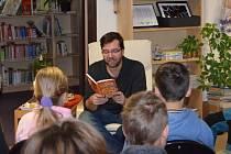 David Laňka představil svoji  novou knihu Prázdniny Billa Madlafouska