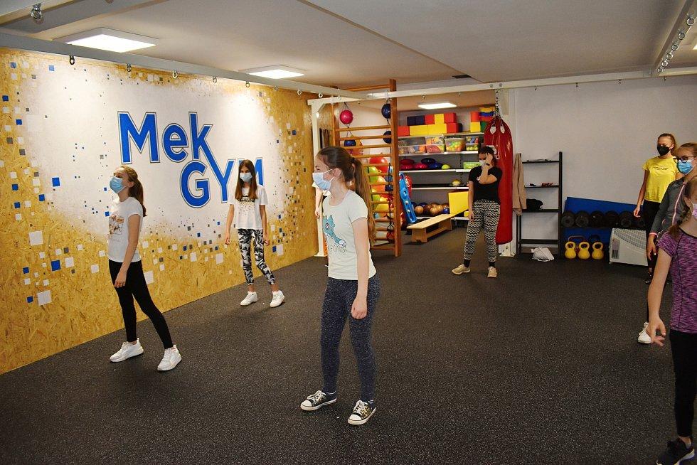 Fitness centrum Mek GYM Rakovník.