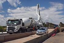Oprava kutrovického mostu.