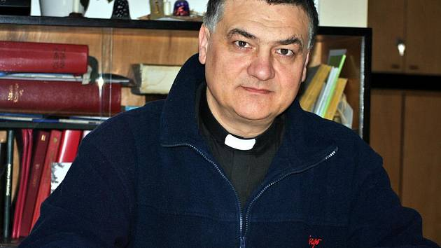 Farář Vojtěch Novák