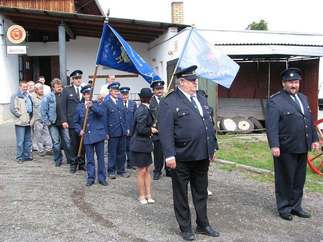 Václavy slaví 110 let svého hasičského sboru
