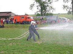 Útok lubenských hasičů