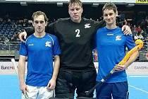 Rakovničtí pozemní hokejisté Tomáš Jahoda, Pavel Hraba a Martin Seemann získali s českou reprezentací na ME v Belgii páté místo