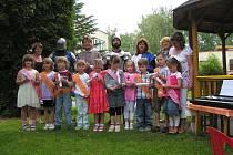 Rozloučení s předškoláky v Mateřské škole V Parku Rakovník