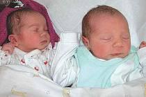 Narodila se tu i dvojčata Annabel a Václav