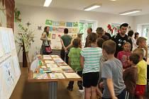 Zahájení výtvarných prací dětí ZŠ a MŠ Šanov