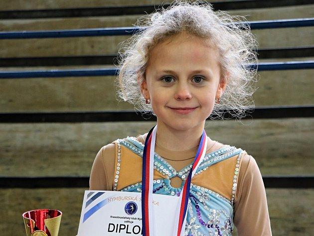 Krasobruslařka Lucie Šilerová.