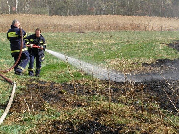 Foto z požáru.