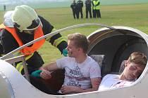 Složky Integrovaného záchranného systému cvičily pád letadla