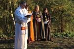Svěcení kapličky U Jeptišky u Bedlna