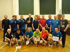 Pohár Rakovnického deníku ovládli stolní tenisté Olešné.