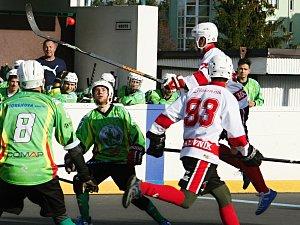 Rakovničtí hokejbalisté nestačili na Sudoměřice