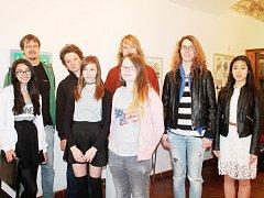 Mladí výtvarníci z rakovnického gymnázia