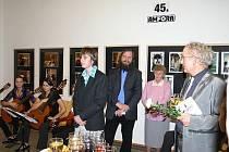 Vernisáž výstavyk 45. výročí Amfory