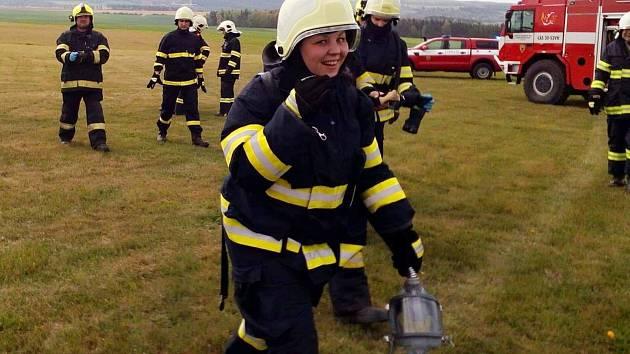 Marcela Miksová, velitelka JSDHO Lubná.