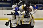 Hokejisté HC Rakovník rozstříleli Černošice 9:3.
