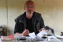 Jan Ondruš, vedoucí brigádníků
