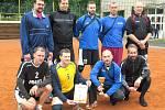 Krajská liga II. třídy, volejbal, Rakovník. Tady je vítězná Mladá Boleslav.