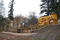 Dětské hřiště v Křivoklátě
