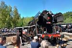 V Lužné u Rakovníka se konal Den železnice.