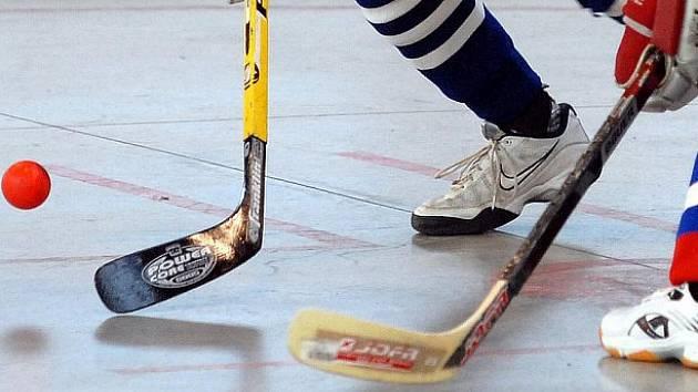 Hokejbal ilustrační foto