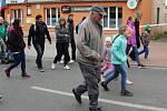 Trasy Lišanské šlapky zdolalo letos asi 300 lidí.