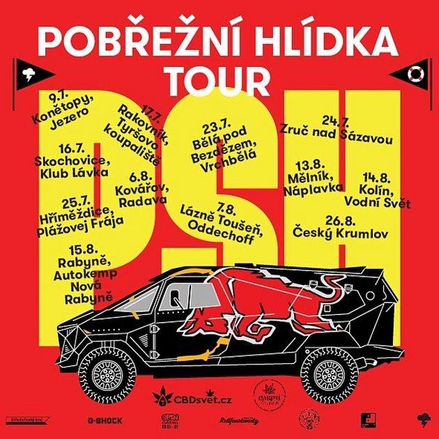 Ve středních Čechách vlétě vyrukují skoncerty zdarma PSH.