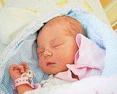 ADÉLA BÖHMOVÁ, RAKOVNÍK. Narodila se 14.března 2018. Po porodu vážila 3,45 kg a měřila 49 cm. Rodiče jsou Kateřina a František. Bratr Ondřej.