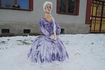 Královna Elsa ze sněhu