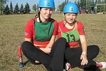 Marta a Edita milují požární sport